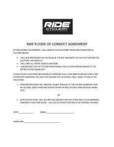 RIDE'r Contract