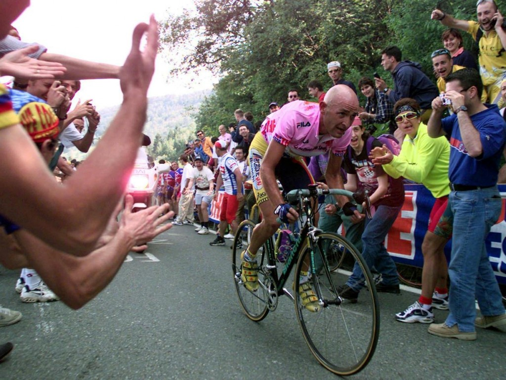 Marco Pantani Cycling In The South Bay