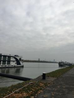 Vienna in the distance