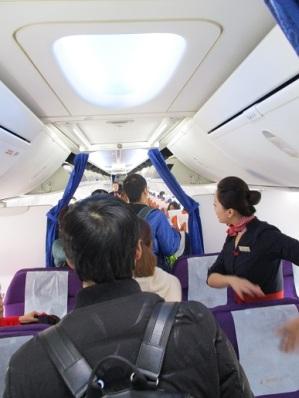 Flying back to Kunming