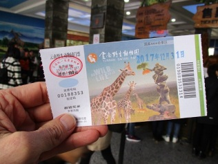 Zoo ticket